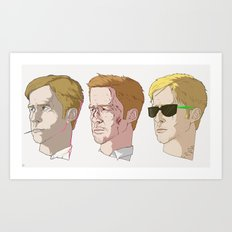 Gosling Trio Art Print