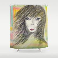 alien Shower Curtains featuring Alien by Laake-Photos
