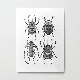 Coleoptera Metal Print