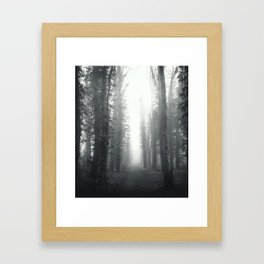 Fog Framed Art Print