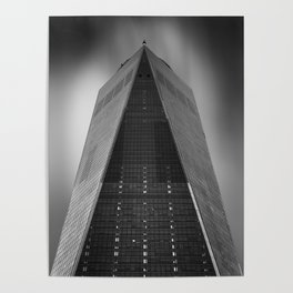 One World Trade Center in New York City Poster