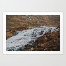 Glen Etive, Scotland Art Print