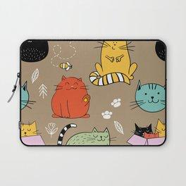 Lovely Cat Laptop Sleeve
