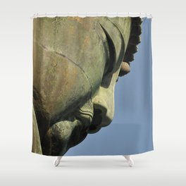 Daibutsu Buddha Shower Curtain