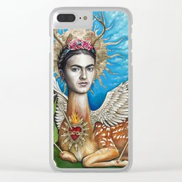 Wings to fly Clear iPhone Case