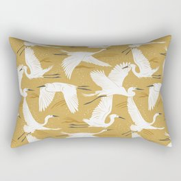 Soaring Wings - Goldenrod Yellow Rectangular Pillow