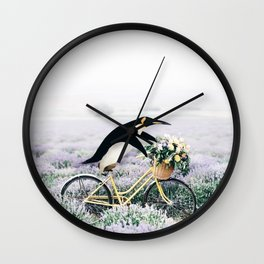 Happy Ride Wall Clock