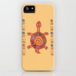 Turtle Africa iPhone Case