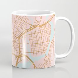 New Haven map, Connecticut Coffee Mug