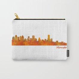 Houston City Skyline Hq v1 Carry-All Pouch