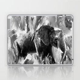 African Elephant - Peaches Laptop & iPad Skin