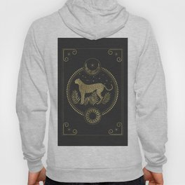 Wild Cheetah and the Moon Hoody