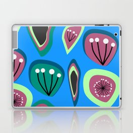 Flowers and seeds- abstract Laptop & iPad Skin