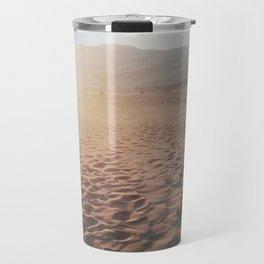 Footprints In The Desert Travel Mug