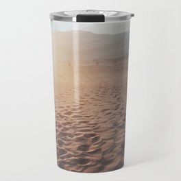 Desert Footprints Travel Mug
