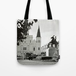 Jackson Square, New Orleans Tote Bag