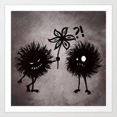 Kind Evil Bugs Art Print