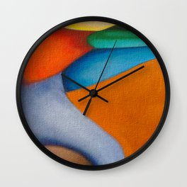 No Meio do Caminho (In The Middle Of The Road) Wall Clock