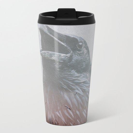 Corvus Metal Travel Mug