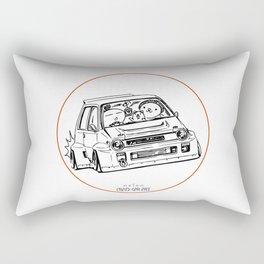 Crazy Car Art 0076 Rectangular Pillow