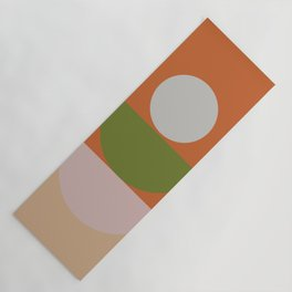 Geometric Shapes #fallwinter #colortrend #decor Yoga Mat