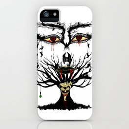 spooky tree iPhone Case