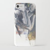 the fault iPhone & iPod Cases featuring  Fault of the ground by Justin Harris