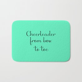 Cheerleader - Mint Bath Mat