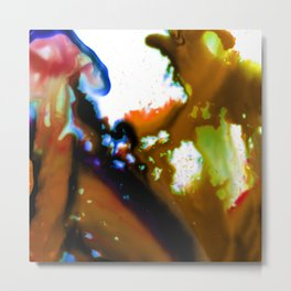 Abstract Bliss 3B by Kathy Morton Stanion Metal Print