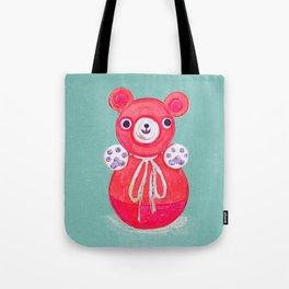Red Bear Tote Bag