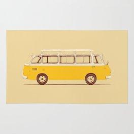 Yellow Van II Rug