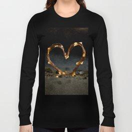 Cool heart shape made from Lighting Long Sleeve T-shirt