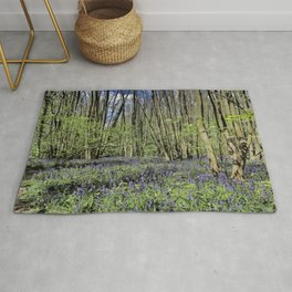 Everdon Stubbs Wood Bluebells Rug