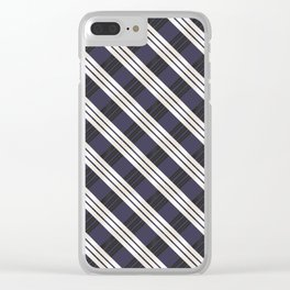 Static Movement (Patterns Please) Clear iPhone Case