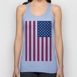 Flag of USA - American flag, flag of america, america, the stars and stripes,us, united states Unisex Tank Top