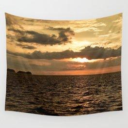 Sunset at Tamarindo Wall Tapestry