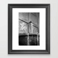 Distant Fall Framed Art Print
