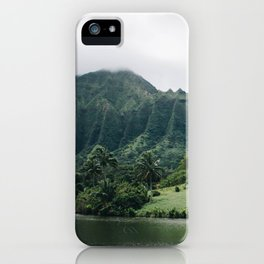 Tropical Mountain - Hawaii iPhone Case