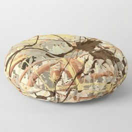 Miniature Original - Brown nuetral Floor Pillow