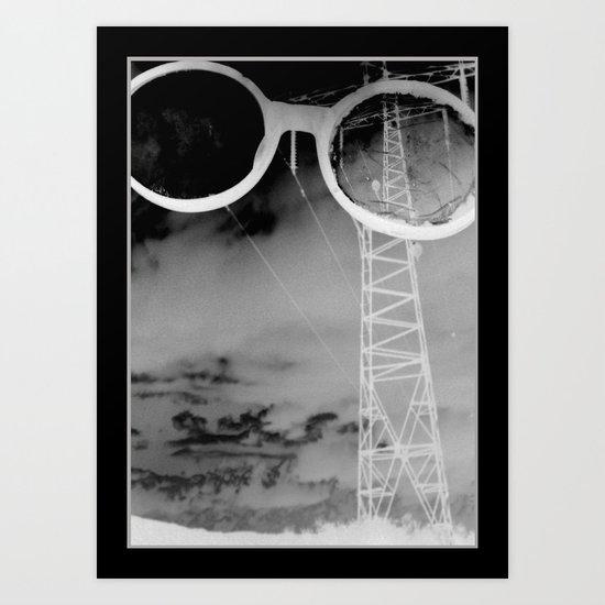 Giants in the Sky Art Print