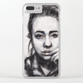 The Rest Is Noise Clear iPhone Case