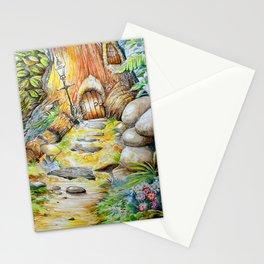 Fairy Doors Stationery Cards