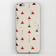 TEE PEE - Tipi - NATIVE NAVAJO PRINT iPhone & iPod Skin