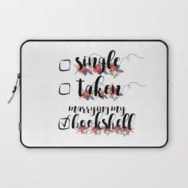 Single / Taken / Bookshelf Laptop Sleeve