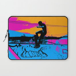 On Edge - Skateboarder Laptop Sleeve