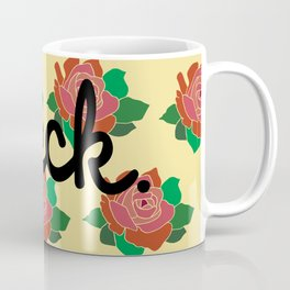 Floral as F*** Coffee Mug