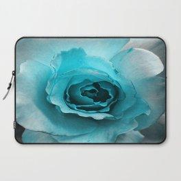 Teal Rose Laptop Sleeve