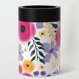 Spring Floral Bouquet Can Cooler