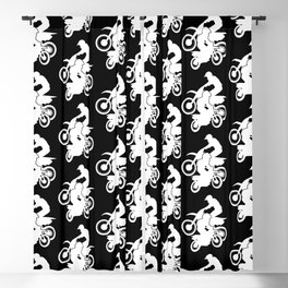 Motocross Dirt Bikes Off-road Motorcycle Racing Blackout Curtain