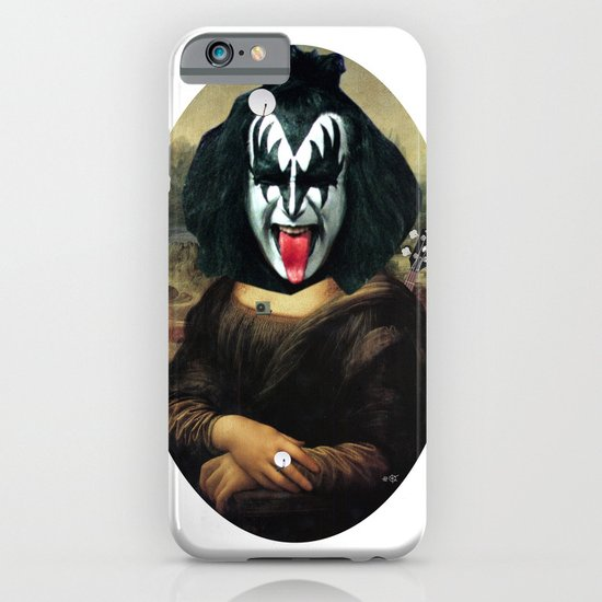 Kiss Mona Collage iPhone & iPod Case